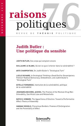 Sciences Po - Raisons politiques N° 76 : .