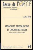 Jean-Luc Gaffard - Revue de l'OFCE N° 94, Juillet 2005 : Attractivité, délocalisations et concurrence fiscale.