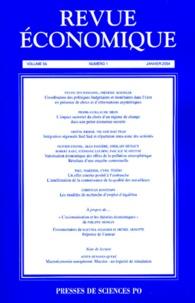 Sylvie Duchassaing et Frédéric Koessler - Revue économique N° 1 - Volume 55, Ja : .