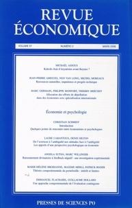 Michaël Assous et Jean-Pierre Amigues - Revue économique N° 2 - Volume 57 Mar : .