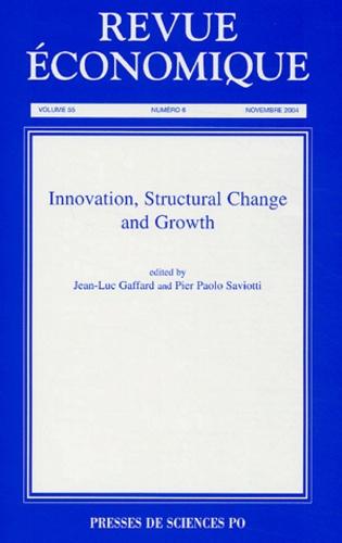 Jean-Luc Gaffard - Revue économique N° 6 - Volume 55 : .