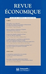 Bernard Baudry - Revue économique N° 6, volume 63, nov : .
