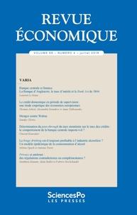 Revue - Revue économique Volume 69 N° 4, juil : .