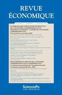 Sciences Po - Revue économique Volume 70 N°6, décem : .