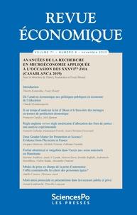Sciences Po - Revue économique Volume 71 N° 6 : .