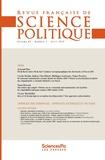 Revue - Revue française de science politique Volume 2 N° 62, avri : .