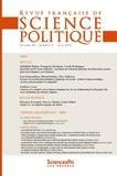 Revue - Revue française de science politique Volume 3 N° 63, juil : .