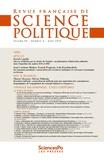 Revue - Revue française de science politique volume 4 N°69, 2019 : .
