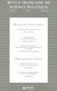 Lucie Bargel et Stéphanie Dechézelles - Revue française de science politique Volume 59 N° 1, Févr : .