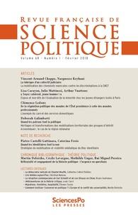 Revue - Revue française de science politique Volume 68 N°1 : .