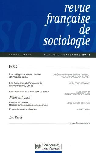 Gianluca Manzo - Revue française de sociologie N° 55-4, Octobre-déc : La simulation multi-agents : principes et applications aux phénomènes sociaux.