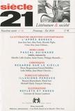 Gabrielle Althen et Tirthankar Chanda - Siècle 21 N° 16, printemps-été : La littérature argentine contemporaine.