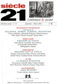 Timour Muhidine - Siècle 21 N° 19, automne - hiv : Renaissance des Balkans - Bulgarie, Serbie, Albanie, Macédoine.