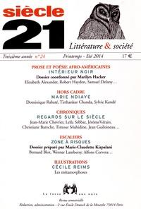 Marilyn Hacker - Siècle 21 N° 24, Printemps-Eté : Prose et poésie afro-américaines.