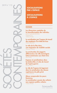 Sciences Po - Sociétés contemporaines N° 115, 2019 : .