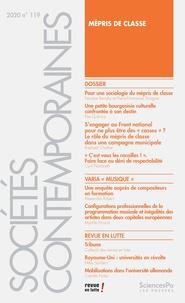 Nicolas Renahy et Pierre-Emmanuel Sorignet - Sociétés contemporaines N° 119, 2020 : .