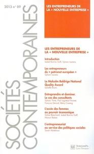 """Vincent Dubois et Marco Oberti - Sociétés contemporaines N° 89, 2013 : Les entrepreneurs de la """"nouvelle entreprise""""."""