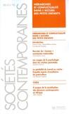 Marie Cartier et Marie-Hélène Lechien - Sociétés contemporaines N° 92, 2014 : Hiérarchies et conflictualité dans l'accueil des petits enfants.