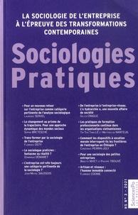 Vincent Brulois et Grégory Levis - Sociologies Pratiques Hors-série N° 3/2021 : La sociologie de l'entreprise à l'épreuve des transformations contemporaines.