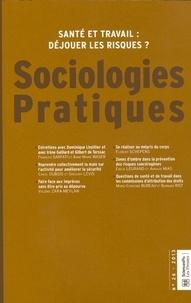 François Sarfati et Anne-Marie Waser - Sociologies Pratiques N° 26/2013 : Santé et travail : déjouer les risques ?.