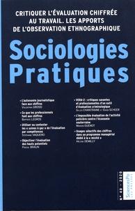 Séverine Chauvel et Jean-Marie Pillon - Sociologies Pratiques N° 40/2020 : Critiquer l'évaluation chiffrée au travail - Les apports de l'observation ethnographique.