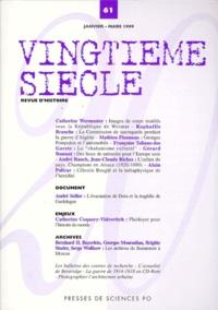 Aurélien Djakouane et Emmanuel Négrier - Vingtième siècle N° 61 Janvier-Mars 1 : .