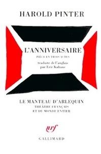 Harold Pinter - L'Anniversaire - [Paris, Théâtre Antoine, 11 décembre 1967.