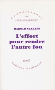 Harold Searles - .