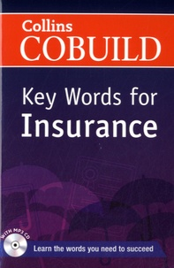 Harper Collins publishers - Collins Cobuild Key Words for Insurance. 1 CD audio MP3
