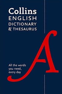 Icar2018.it Collins English Paperback Dictionary and Thesaurus Image