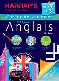 Deedr.fr Anglais de la 4e à la 3e - Cahier de vacances 100% jeux Image