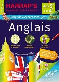 Harrap - Cahier de vacances Harrap's 100 % jeux Anglais de la 5e à la 4e.