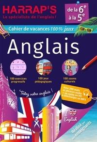 Harrap - Cahier de vacances Harrap's 100 % jeux anglais de la 6e à la 5e.