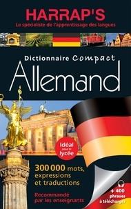 Harrap - Dictionnaire Harrap's Compact allemand - Français-allemand et allemand-français.
