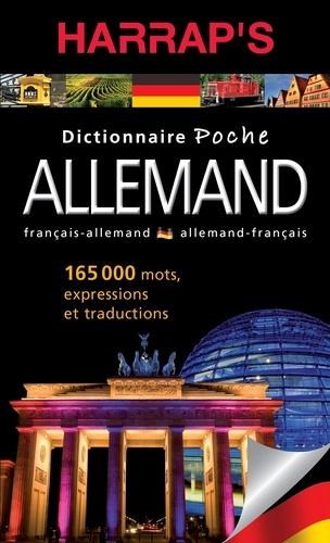 Harrap - Dictionnaire poche allemand-français et français-allemand.