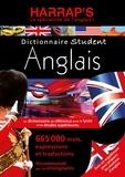 Harrap - Dictionnaire Student anglais-français et français-anglais.