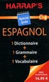 Harrap - Espagnole Dictionnaire ; Grammaire ; Vocabulaire spécial lycée - Coffret 3 volumes.