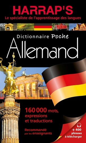 Harrap - Harrap's dictionnaire poche français-allemand / allemand-français.