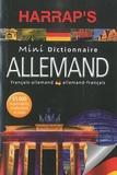 Harrap - Mini dictionnaire français-allemand et allemand-français.