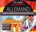 Harrap's - Harrap's kit audio allemand - Débutez l'allemand en 20 séances de 5 mn. 1 CD audio MP3