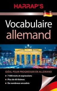 Vocabulaire allemand -  Harrap's  