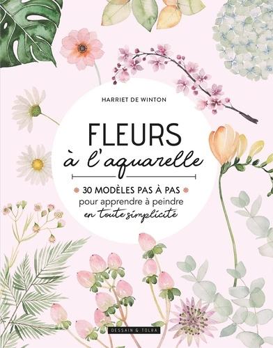 Harriet de Winton - Fleurs à l'aquarelle.