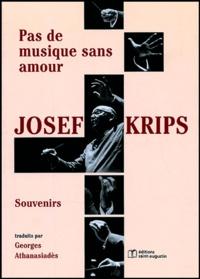 Checkpointfrance.fr Josef Krips, souvenirs - Pas de musique sans amour Image