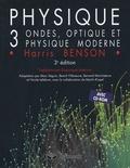 Harris Benson - Physique Pack 2 volumes - Volume 3, Ondes, optique et physique moderne avec solutions et corrigé des problèmes. 1 Cédérom