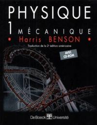 Harris Benson - Physique - Tome 1, Mécanique. 1 Cédérom