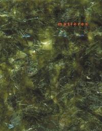 Harry Gugger et Bruno Marchand - Matières N° 8/2006 : .
