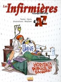 Harty et  Mo-CDM - Les Infirmières illustrées de A à Z.