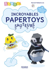 Kawaii ! Incroyables papertoys sauteurs - Haruki Nakamura   Showmesound.org