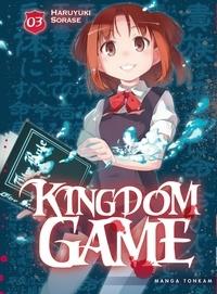Haruyuki Sorase - Kingdom Game Tome 3 : .