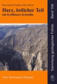 Harz, östlicher Teil mit Kyffhäuser Kristallin.